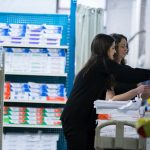 Cleveland ILEA members stock shelves during charity event