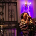 singer entertaining at corporate party in new orleans