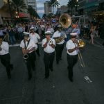 new orleans second line parade at corporate event