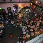 new orleans corporate event attendees on bourbon street