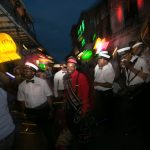 bourban street parade during new orleans corporate event